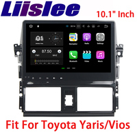 Liislee Android Car Navigation GPS For Toyota Yaris/Vios 2013~2015 HD Touch Screen Audio Video Multimedia Player No CD DVD