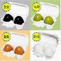 Holika Holika Egg Soap Facial Cleanser Soap Handmade Shrink Pores 2pcs/set Anti Acne Deep Cleansing Soap Egg Pore Soap