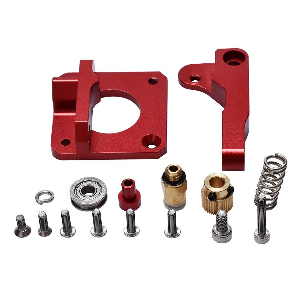 3D Printer Parts DIY MK8 Extruder Upgrade Aluminum CR 10 bowden extruder 1.75mm Filament Reprap Extrusion for CR-7 CR-8 CR-10