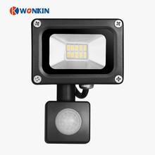 10W sensor led floodlight motion PIR 220V outdoor lights SMD 5730 Floodlights For LED street light projector