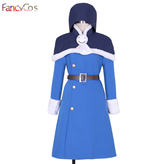 Halloween Fairy Tail Juvia Loxar Cosplay Costume Blue Dress Adult High  Quality Deluxe High Quality Custom
