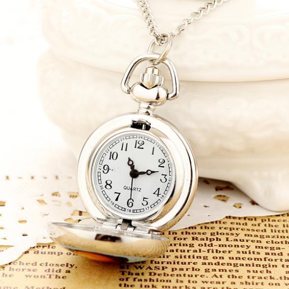 Купить новинка 2019 модные мужские и женские серебряные карманные часы