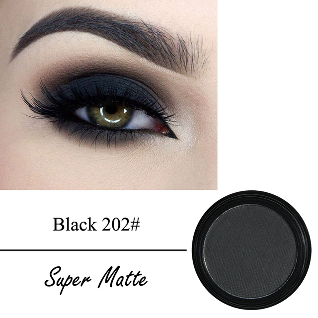 12 Colors Matte Eye Shadow Powder Pigment Nude Long Lasting Bright Eyeshadow Makeup Water-Resistant Black Red Eyeshadow 2