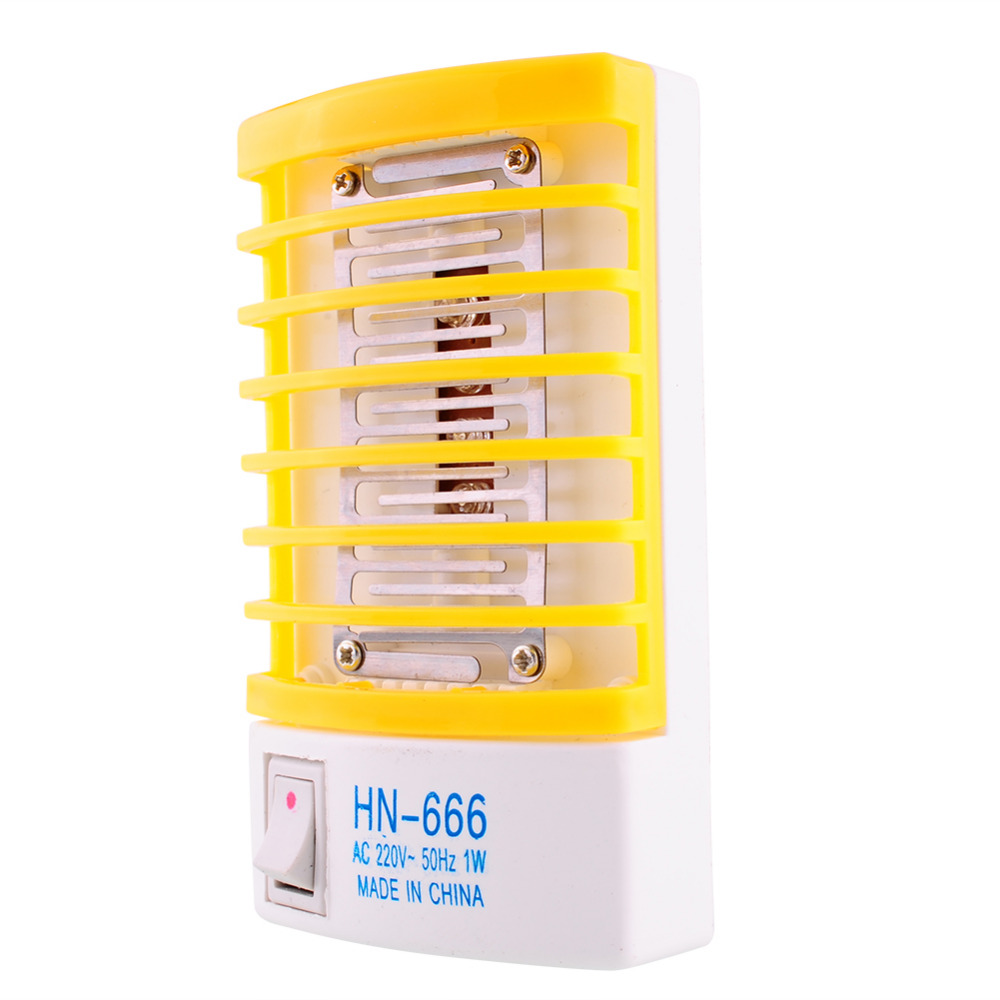 220V 1W мини LED сензор нощна лампа - Градински принадлежности - Снимка 3