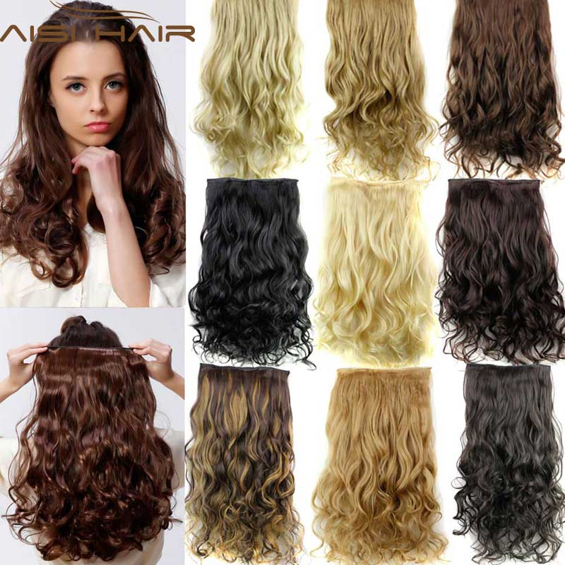 Hairpiece 24inch 60cm 120g curly wavy hair extension synthetic hairpiece 24inch 60cm 120g curly wavy hair extension synthetic clip in hair extensions heat resistant multicolor wholsale xmas iikstore iikstore pmusecretfo Images