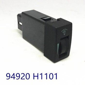 Oświetlenie reostat montaż kontrola desce rozdzielczej regulacji jasności przełącznik przycisk dla hyundai Terracan 2001-2007 94920 H1101