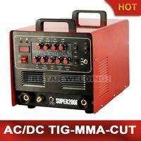 2015 RSTAR Multifunctional inverter AC/DC PULSE TIG ARC PLASMA CUTTER WELDING MACHINE