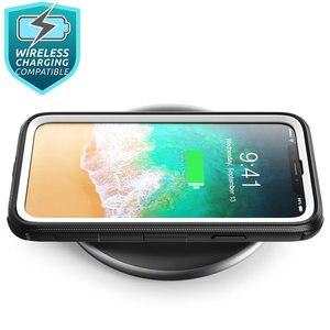 Image 4 - Için iphone X Xs Kılıf i Blason Armorbox Tam Vücut Ağır Şok Azaltma Kapak ile inşa Temperli cam Ekran Koruyucu