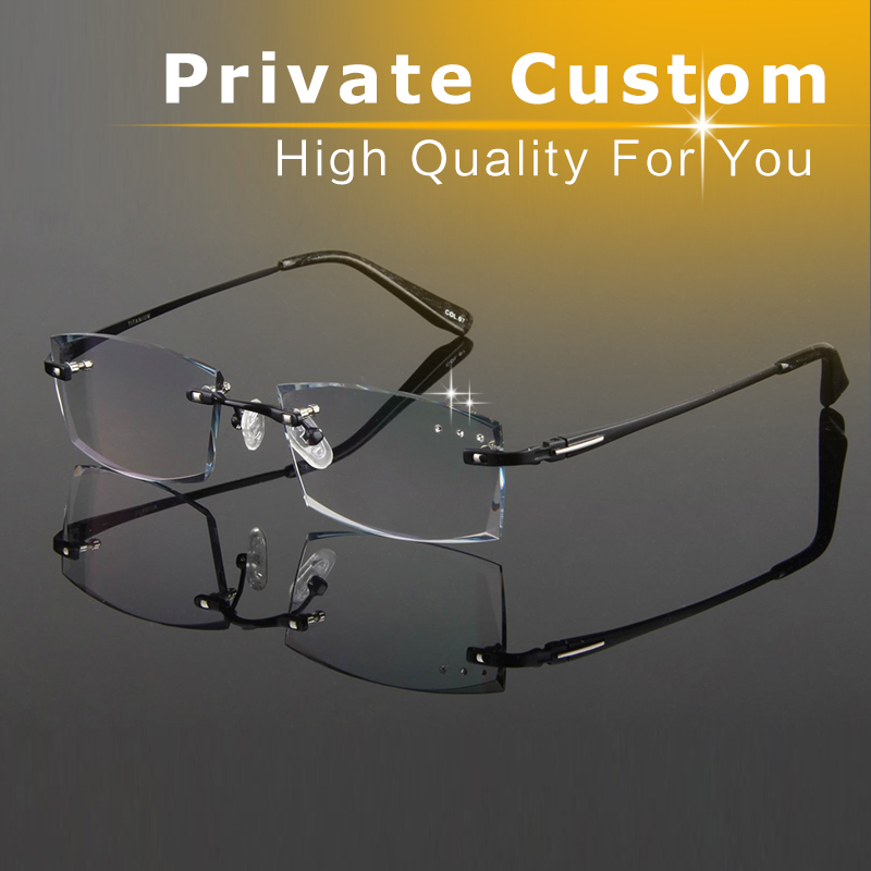 Rimless Eyeglass Frames With Bling : Aliexpress.com : Buy High Clear Rhinestone Eyeglass Frames ...