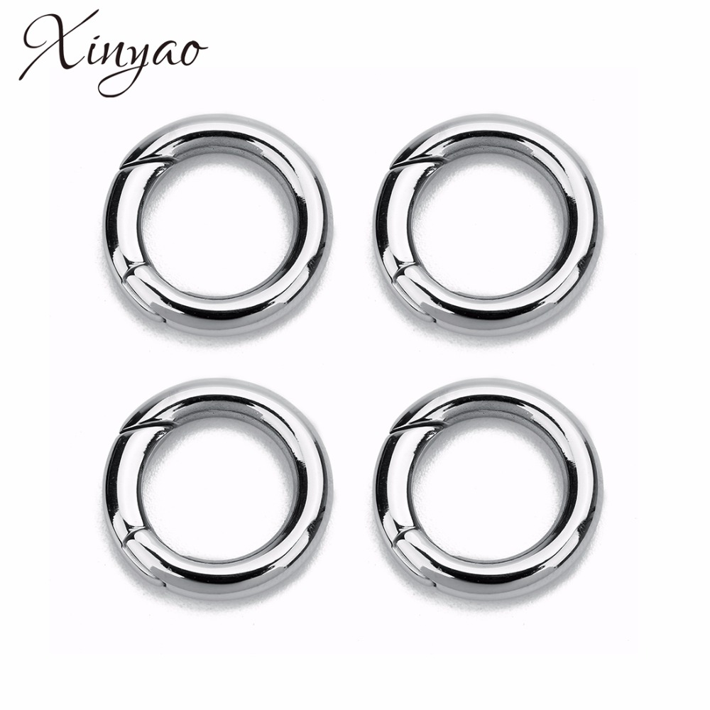 Closed colored split jump ring to choose DIY making outter-diameter 5mm//6mm//8mm