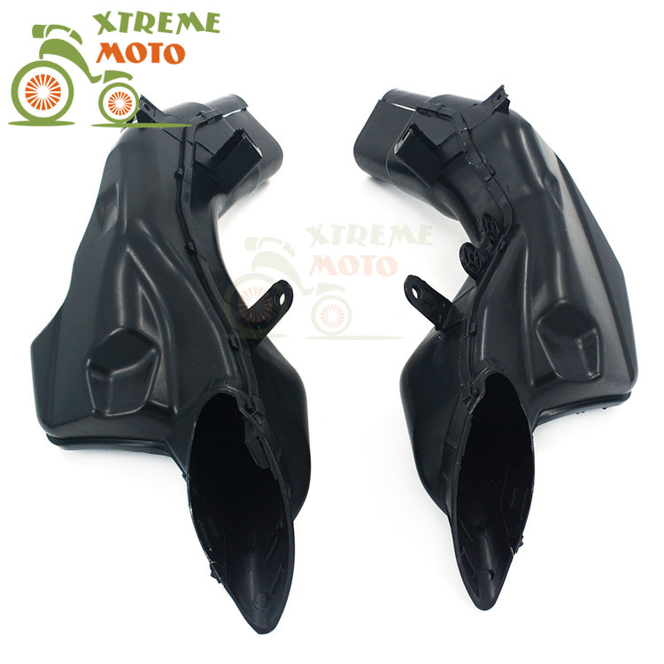 Motorcycle Air Intake Tube Duct Cover Fairing For SUZUKI GSXR1300 2008-2014 2008 2009 2010 2011 2012 2013 2014 08 09 10 auto side air vent fender decoration sticker cover hole intake grille duct flow