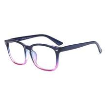 Flat Mirror, Rice Nail Glasses Frame, Retro Large Frame Glasses, Unisex Transparent Mirror