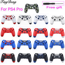 Behuizing Shell Case Cover voor JDM-040 Playstation 4 PS4 Slanke Pro Controller(China)