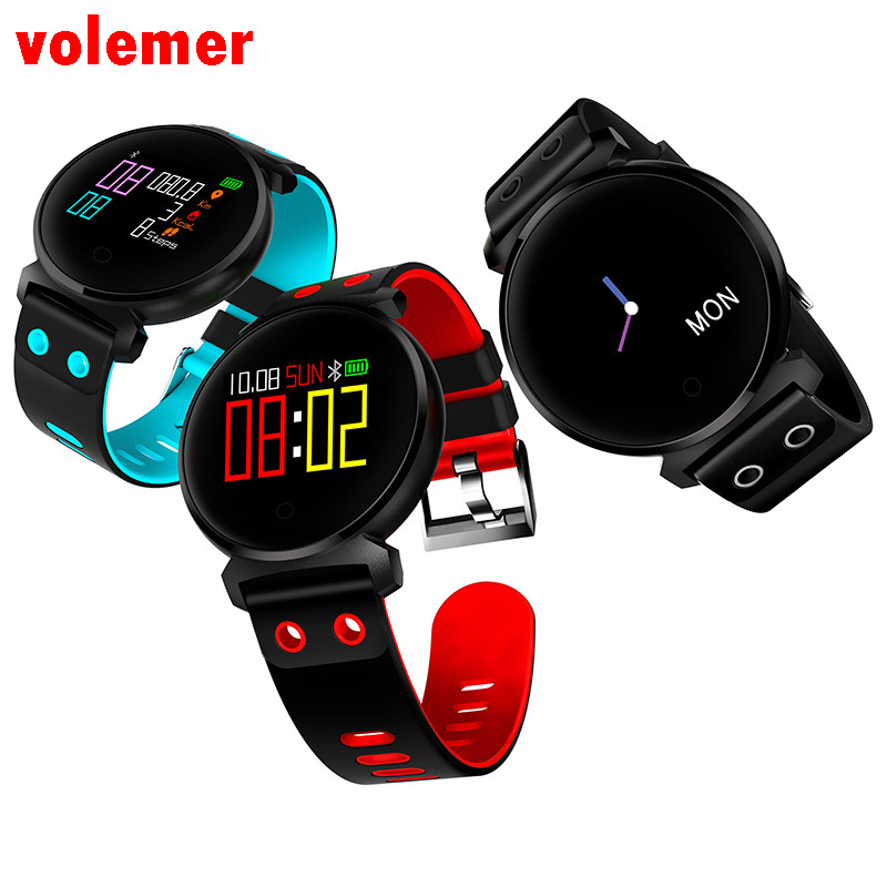 Volemer Smart Band K2 IP68 Professional Waterproof Fitness Bracelet Smart Wristband Bluetooth Watches Blood Pressure Bracelet