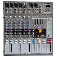 Freeboss ME 82A consola mezcladora de Audio de 8 canales