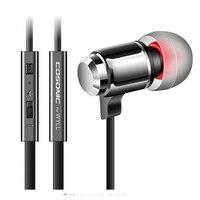 In Ear Earphone Metal Headset With Remote Mic Volume Control For Iphone Xiaomi Hongmi Samsung Phone