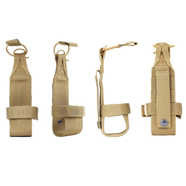 2018 New Ourdoor Camping Portable Nylon Tactical Army Military Molle Canteen Water Rack Pouch Durable Adjustable Pack Belt.