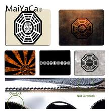 MaiYaCa Non Slip PC dharma initiative Laptop Computer Mousepad Size for 18x22cm 25x29cm Rubber Mousemats(China)
