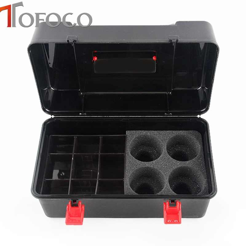 TOFOCO Beyblade Case Locker Organizer Kids Tools Carrying Spinning Top Box  Beyblade Metal Fusion 4D Launcher Toys