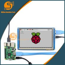 Buy online 7 inch Raspberry pi 2/3 LCD display touch screen 7inch HDMI LCD (B), supports various systems