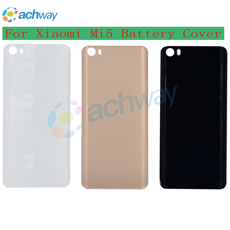 High Quality Glossy & Matte Back <font><b>Battery</b></font> <font><b>Cover</b></font> For <font><b>Xiaomi</b></font> Mi 5 <font><b>Mi5</b></font> M5 Phone Case Housing Replacement <font><b>XIAOMI</b></font> MI 5 <font><b>Battery</b></font> <font><b>Cover</b></font> image