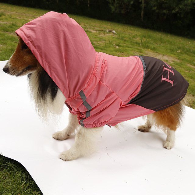 New arrival large dog fashion rain jackets clothes big dogs raincoats costume pet accessories hoodies pets clothing 1pcs L-XXXL 2