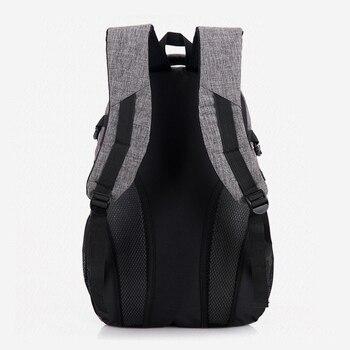 2020 New Fashion Men's Backpack Bag Male Polyester Laptop Backpack  3