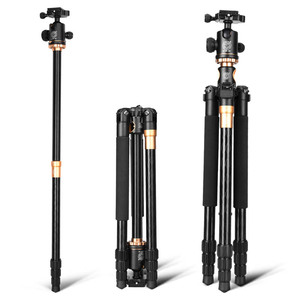 "Image 4 - Q999H yatay Tripod profesyonel kamera düz Tripod _ _ _ _ _ _ _ _ _ _ _ _ _ _ _ _ _ _ _ _ ""taşınabilir kompakt esnek Tripod Canon Nikon Sony DSLR kameralar"