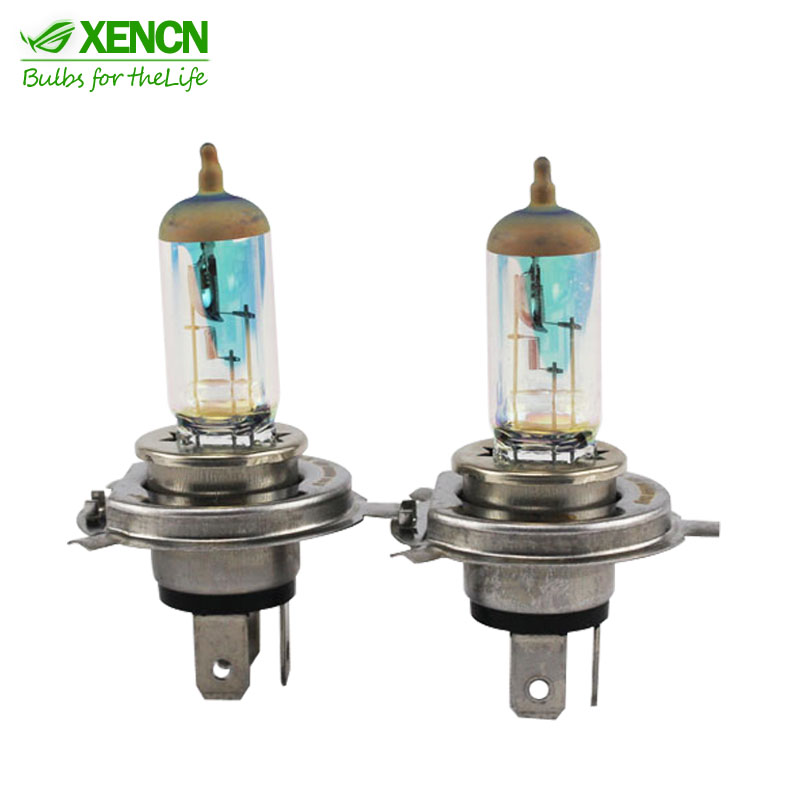 XENCN White Diamond Light Car Colorful Headlight Replace Upgrade Halogen Lamp H1 H3 H4 HB3 HB4 9005 9006 880 881