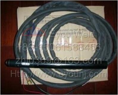 P141 Original Trafimet-140A torche de coupe droite (avec adaptateur Central) pour Machine à CNC (6 M = 19.8 pieds) Plasma haute fréquence