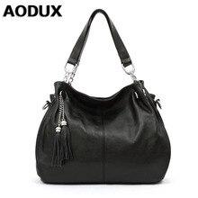 Aodux 9 Цвета Пояса из натуральной кожи Для женщин Сумки на плечо длинный ремешок сумка леди сумка