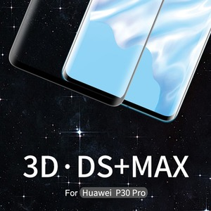 Image 2 - Nillkin Huawei P30 Pro Glass Screen Protector 3D DS+MAX Full Cover 9D Edge Safety Protecive Glass for Huawei P30 Pro Tempered