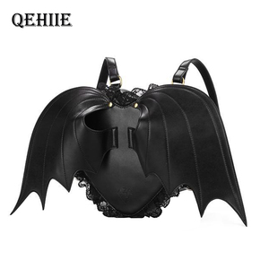 Women Backpack Bat Wing Backpa