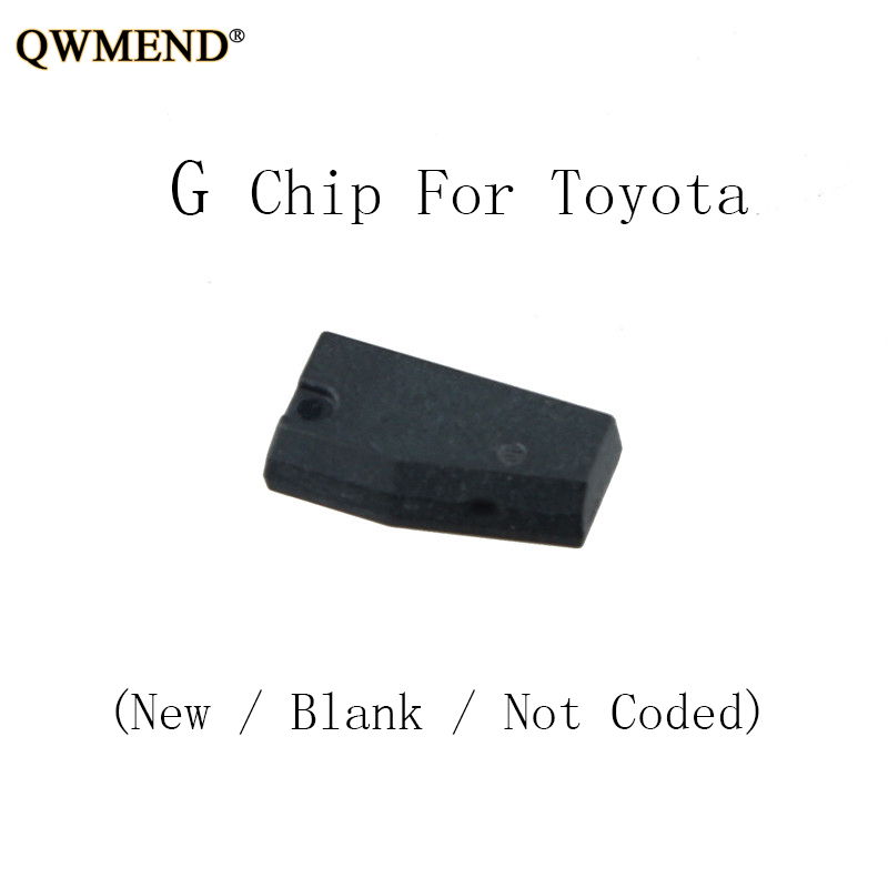 QWMEND G Transponder Key remote key chip For Toyota G chip transponder  (New / Blank / Not Coded)QWMEND G Transponder Key remote key chip For Toyota G chip transponder  (New / Blank / Not Coded)