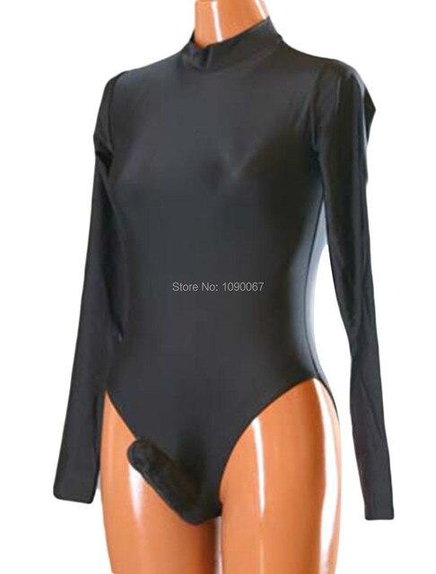 Wholesale Unisex Lycra Spandex Swimsuit Dancewear Leotard Costumes Penis Sheath S-XXL