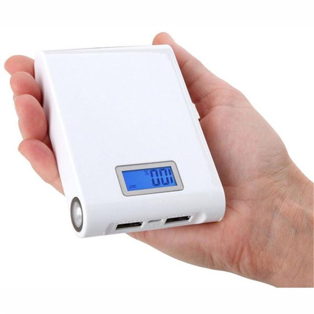 Bateria Externa dupla USB 8800 Mah Banco de Potência Portátil Tablet com Alta Capacidade