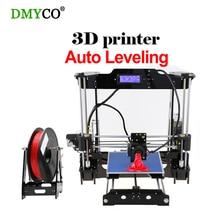 Новый автоматическое выравнивание RepRap Prusa I3 3D принтер DIY Kit Высокая точность xtruder 3D печати 1 рулон нити алюминиевый очаг ЖК-дисплей подарок