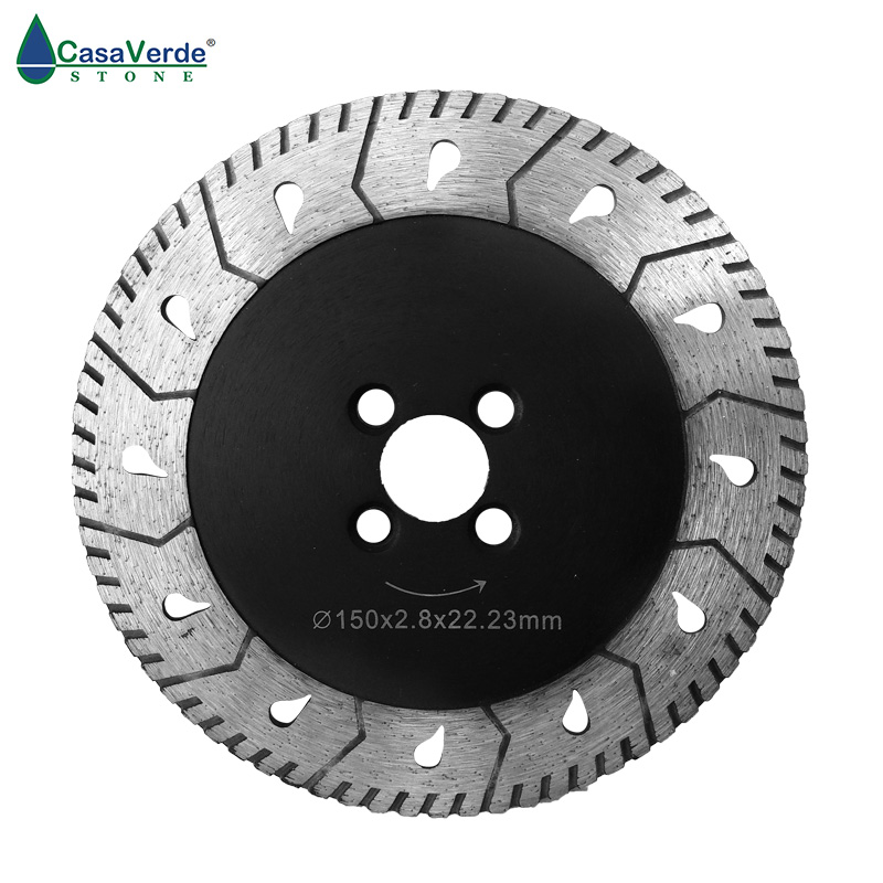 Free shipping DC-M6 6 inch diamond grinding disc 150mm and circular cutting wheels for stone diameter 50mm diamond sintered standard stubbing grinding wheels for stone processing
