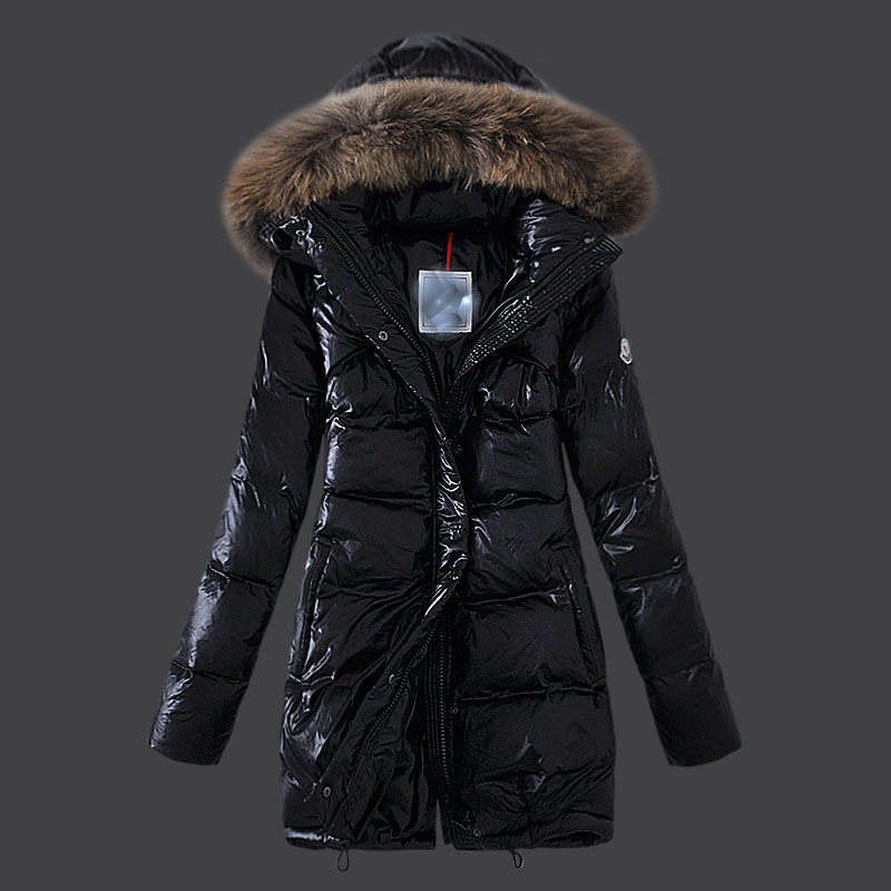 Women Jacket Coat Real Raccoon Fur Hood Fashion Winter Long Overcoat Thicken Warm Soft Jacket With Belt Black Coat