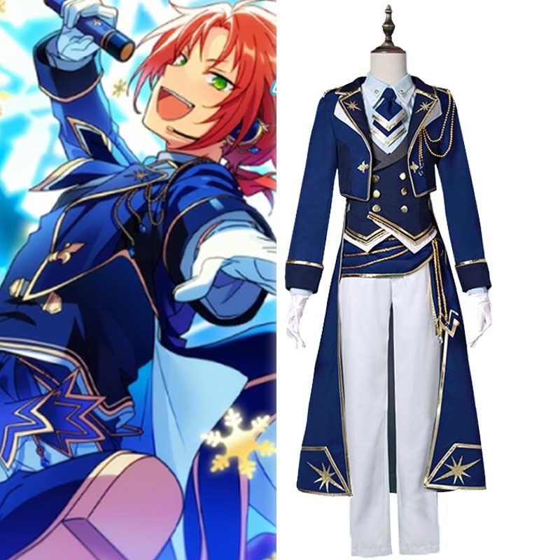 Ensemble Stars Tsukinaga Leo Cosplay Costume The Glorious Knights Starlight Festival Uniforms Halloween Party Outfit Custom