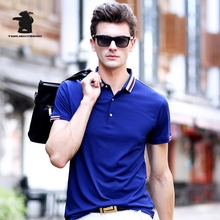 2017 Summer New men's Short Sleeve Polo Shirts Fashion Printing Plus Size Business Casual Polo Shirts Men M~3XL C15D7189