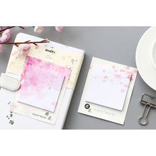 30pcs/pack Beautiful Cherry Blossom Notes Posted Seven Selected Stationery Memo Pad Paper Stickers