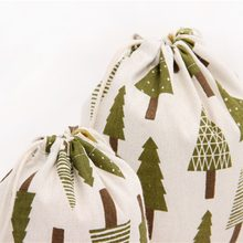 Linen Cotton Bags 14x16 19x24 25x32cm Cloth Party Wedding Favor Boutique Candy Jewelry Packaging Bags Muslin Gift Bag Pouches(China)
