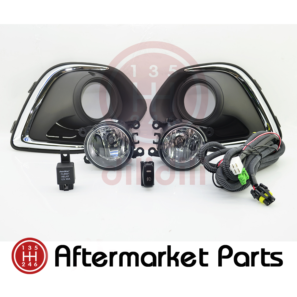 Fog Light Lamps Kit for Mitsubishi Outlander Sport ASX 2013 2014 2015 de dietrich dte 1114 x
