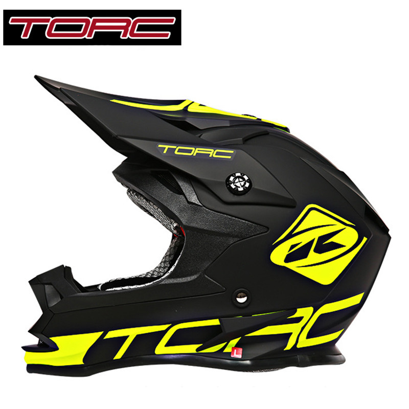 TORC Half Open Face Fox Racing Motorcycle Helmet Professional Off Road Motorcross Helmets Scooter Downhill Moto