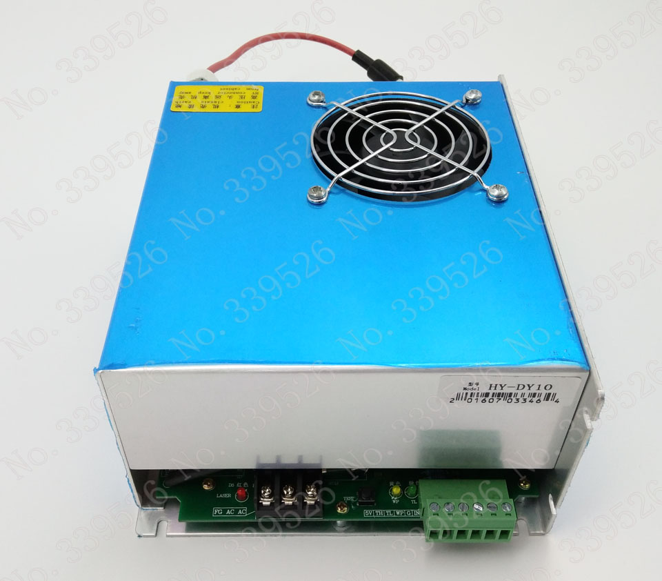 DY10 power source for co2 laser engraving and cutting machine  for reci tube