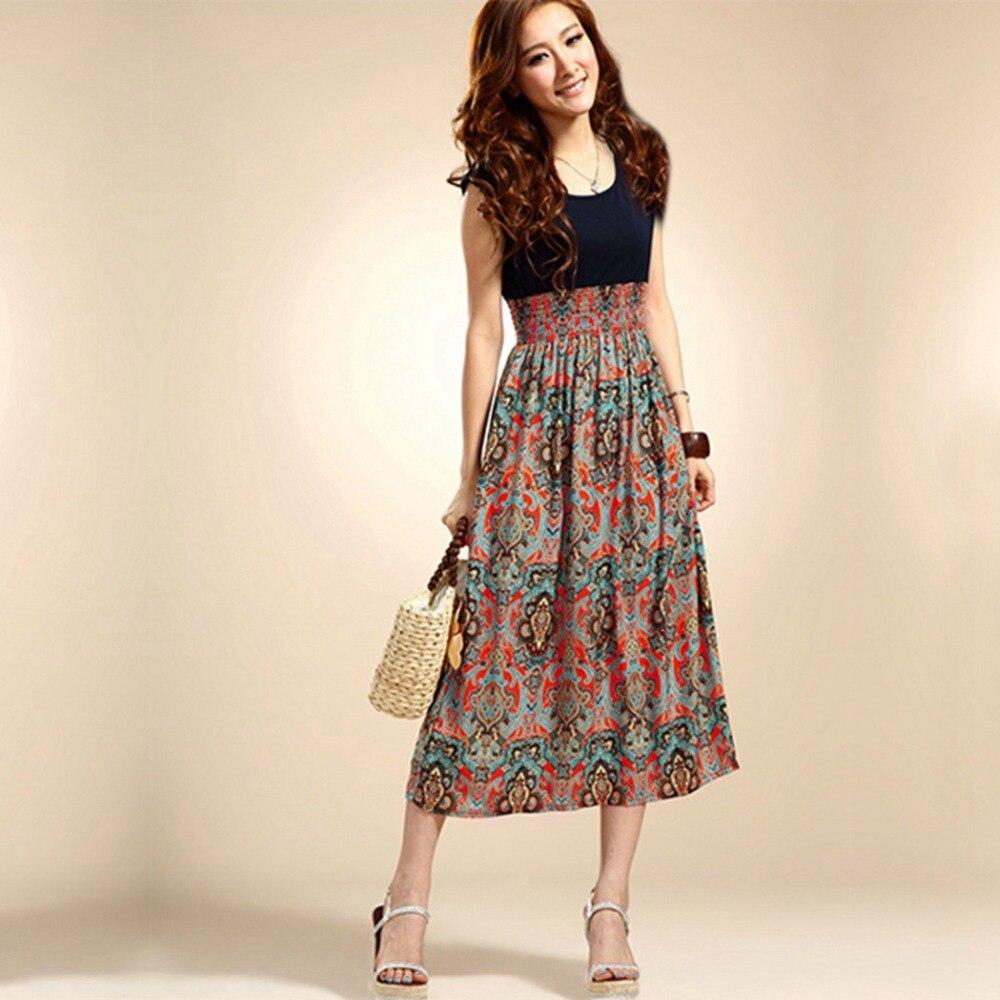 Long Bohemian Dresses for Women