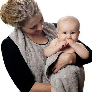 Image 5 - 90CM * 90CM מסורק כותנה תינוק מגבת סינר מגבת באיכות גבוהה סופג ילדים סלעית מגבונים אמבטיה מגבת