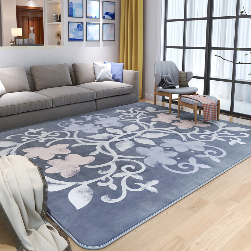Brief Pastoral Rugs And Carpets For Home Living Room Warm Bedroom Area Rug Coffee Table Carpet Cloakroom/Sofa Floor Mat Soft