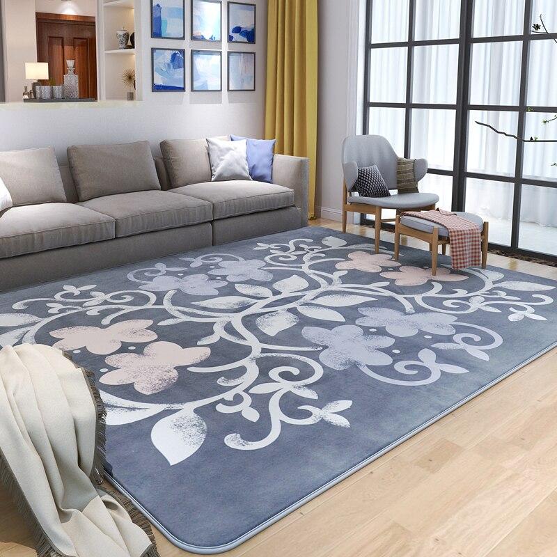 Brève pastorale tapis et tapis pour la maison salon chaud chambre zone tapis Table basse tapis vestiaire/canapé tapis de sol doux